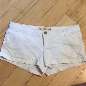 Hollister White shorts